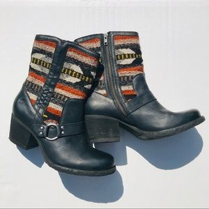 Born Panarea Boots Aztec Blanket